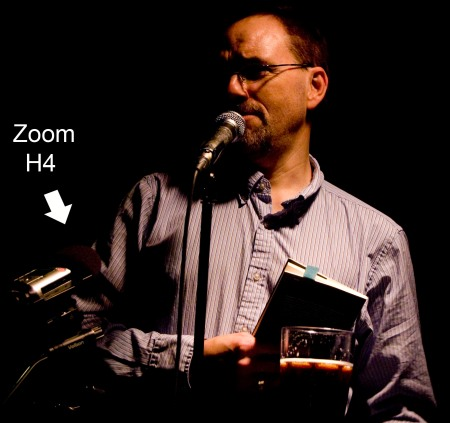 Jeffery Donaldson with Zoom H4